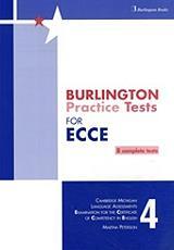 BURLINGTON PRACT. TESTS MICH. ECCE 4 SB